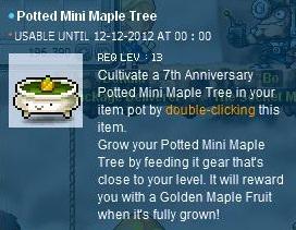 Maple Tree &th anniversary