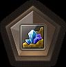 FamiliarBadge Mineral Badge