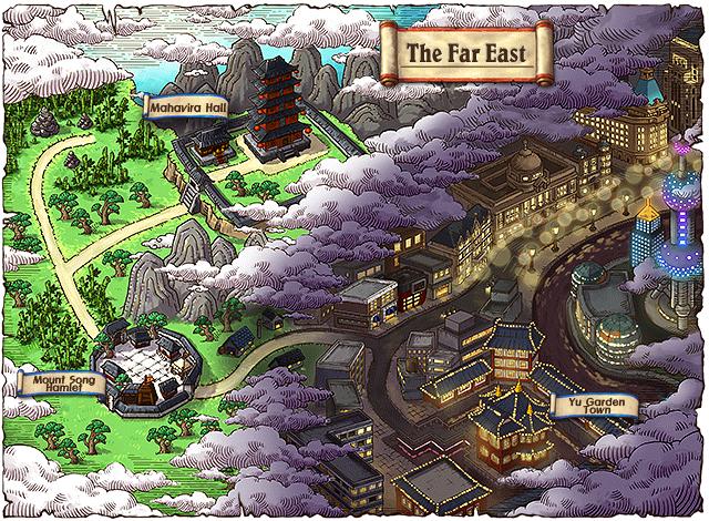 WorldMap The Far East