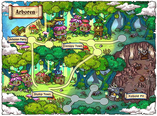 WorldMap Arboren