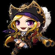 ClassArtwork Pirate (Justice, Female)