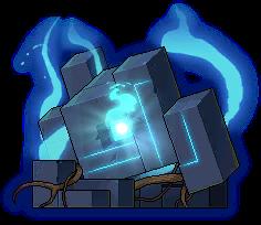 Mob Fragmented Golem