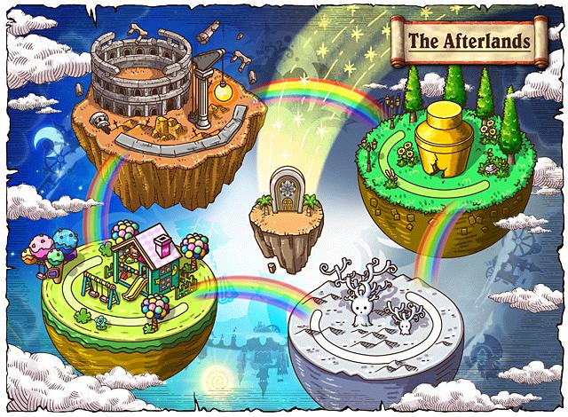 WorldMap The Afterlands