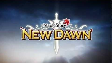 MapleStory New Dawn Update