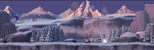 Map Frozen Grim Vale (Boss)