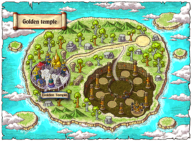 WorldMap Golden Temple