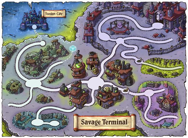 WorldMap Savage Terminal