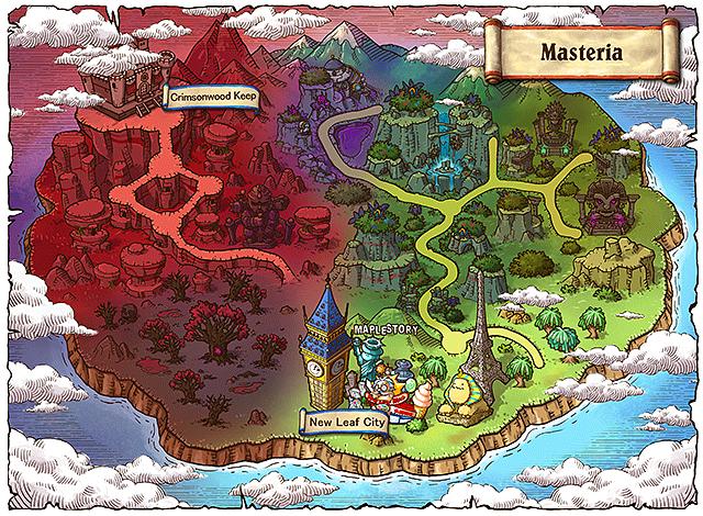 WorldMap Masteria