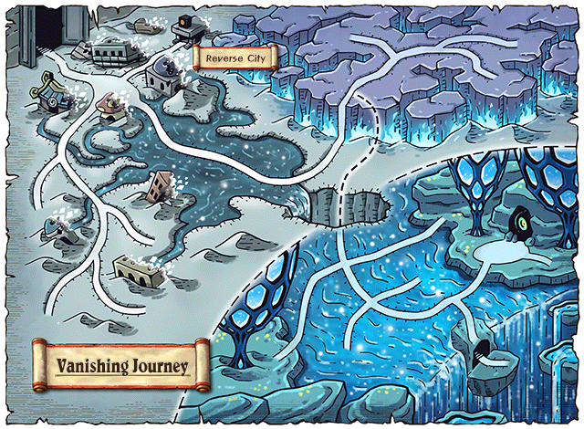 WorldMap Vanishing Journey
