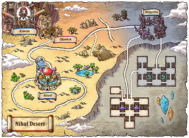 WorldMap Nihal Desert