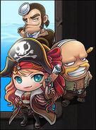 MapleStory Pirate Poster2