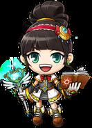 ClassArtwork Magician (Jump, Female)