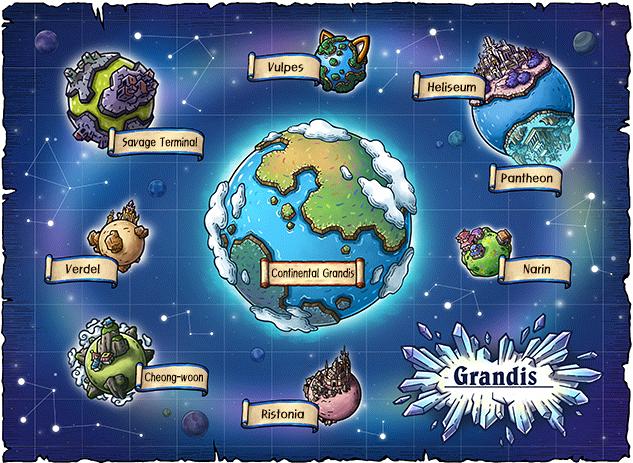 WorldMap Grandis