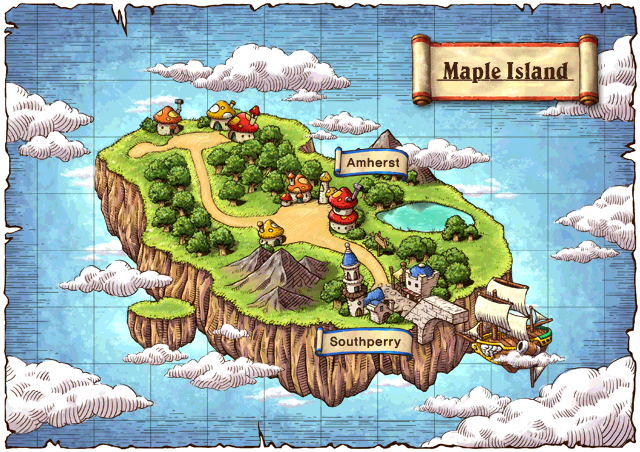 WorldMap Maple Island