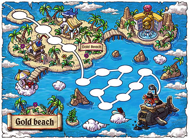 WorldMap Gold Beach