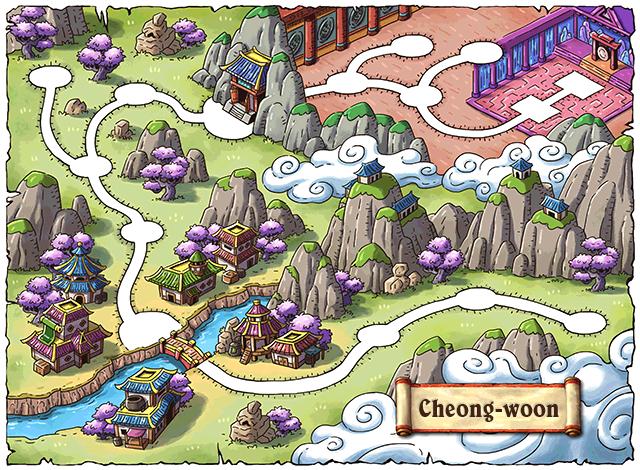 WorldMap Cheong-woon Valley