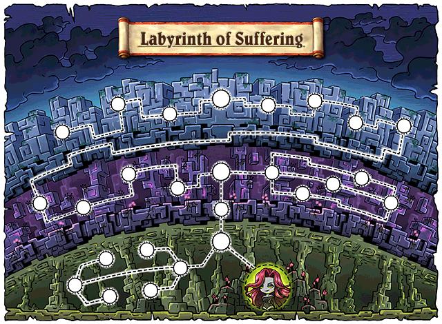 WorldMap Labyrinth of Suffering