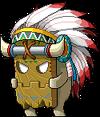 Mob Sinister Wooden Mask