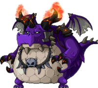 Mob Flamehorn Dragon