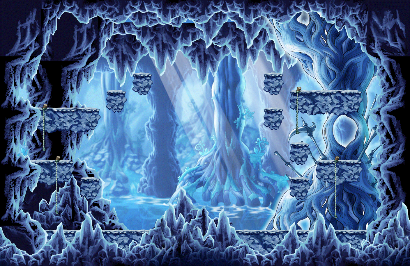 Map Horntail's Cave