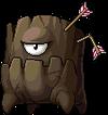 Mob Swollen Dark Stump