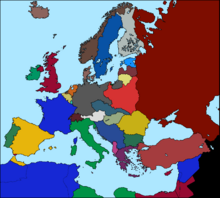 Map Of Europe 1936 Kaiserreich - Imagez co