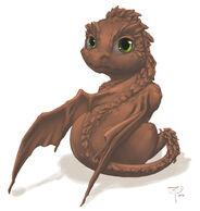 Earth dragon baby by crimson nemesis-d50cyl0