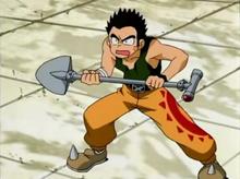 Battle Shovel Anime