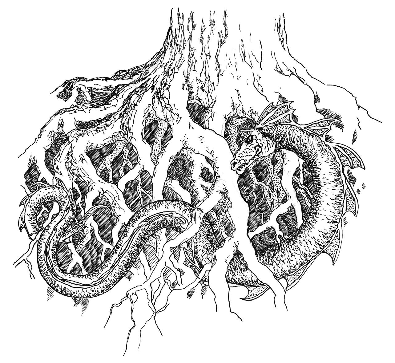 Yggdrasil Schlange