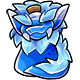 Blue Oglue Pot