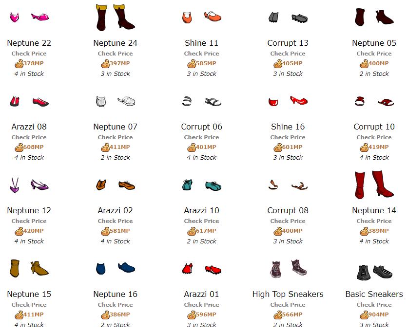 FootwearShopItems