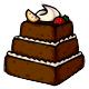 Chocolatepyramidcake