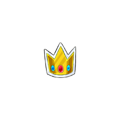 A rarity 22 Crown Stamp that will retire and only ever be available from account upgrades