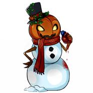 Snowman halloween