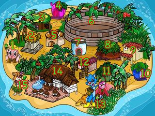 Island numbered