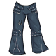 Punk jeans
