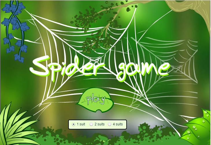 SpiderSolitaire