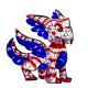 American lorius pinata