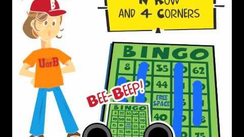 How to play the bingo game N Row and 4 Corners