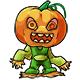 Minipet green pumpkined