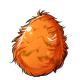 Hairy easter egg