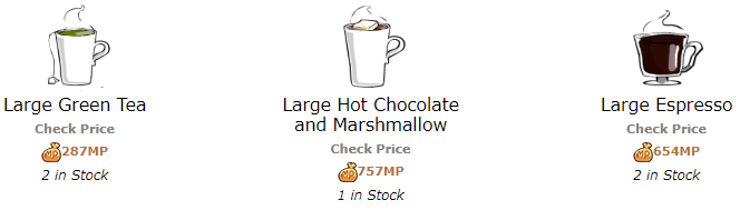 CoffeeShopItems