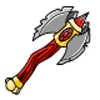 Weapon axe king