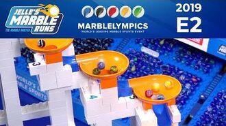 Marble Race MarbleLympics 2019 E2 - Funnel Race