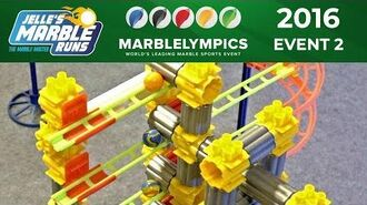 Marble Race Marblelympics 2016 Event 2 Relay Race