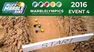 Marble Race Marblelympics 2016 Event 4 - Sand Rally