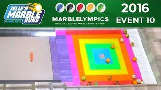 Marble Race Marblelympics 2016 Event 10 - Precision Slalom