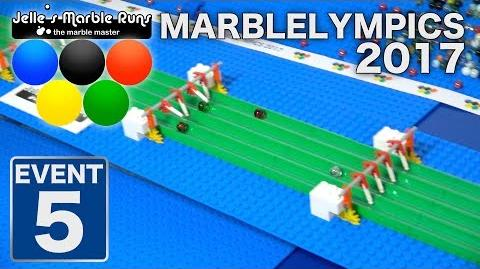 Marble Race- MarbleLympics 2017 event 5- Hurdles