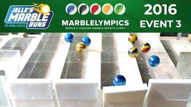 Marble Race Marblelympics 2016 Event 3 Collision