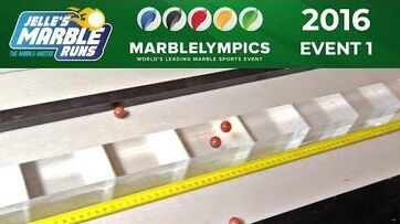 Marble Race Marblelympics 2016 Event 1 Balancing